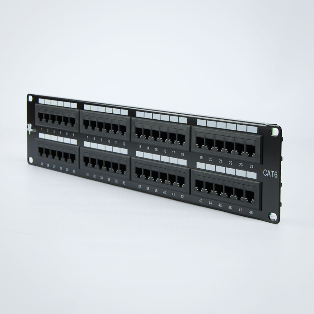 photo of TOTEN Cat6 Patch Panel 48 Port