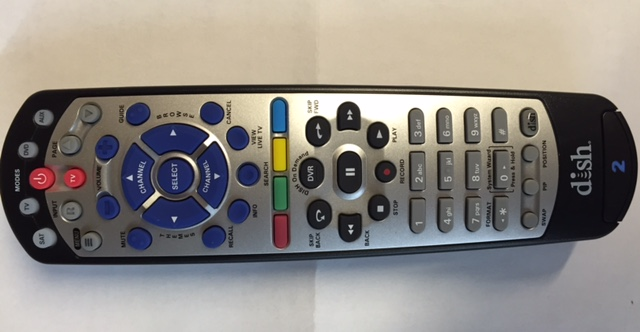 photo of Bell Dish Remote #2-9400 UHF