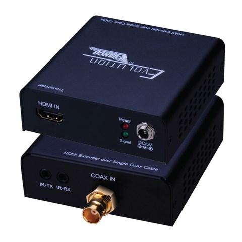 photo of HDMI Balun Over Single Coax With IR