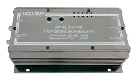photo of Holland Launch Amp 54-1000MHz HDA-1000