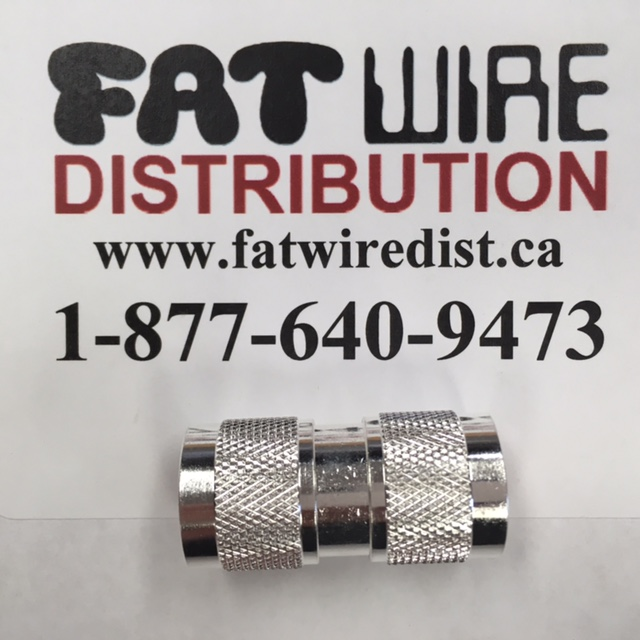 photo of N Male To N Male Adapter, Silver
