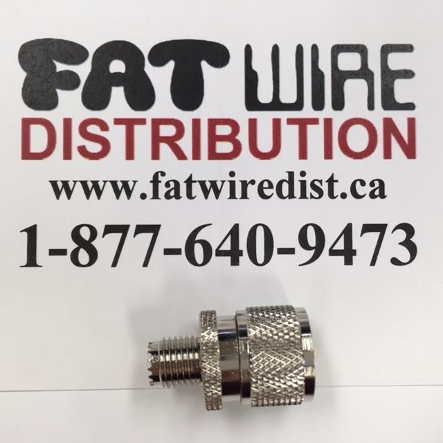 photo of Mini UHF Female To UHF Male Adapter