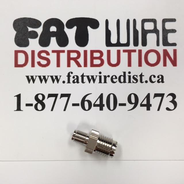 photo of SMA Female To Mini UHF Female Adapter