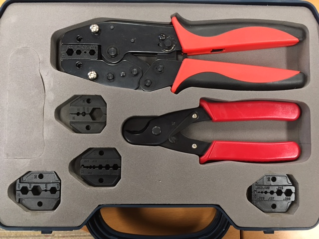 photo of Quick Change Ratchet Crimp Tool Kit