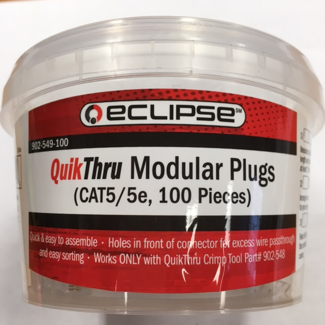 photo of Cat5 QuikThru Eclipse Pack100