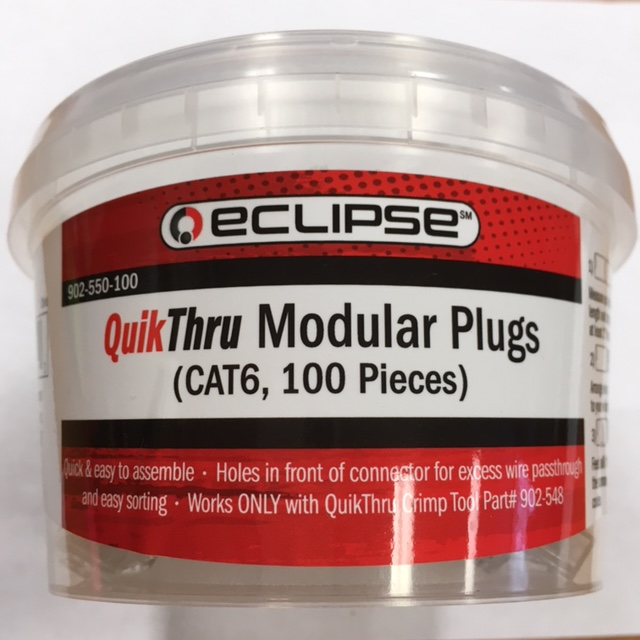 photo of Cat6 QuikThru Eclipse Pack100