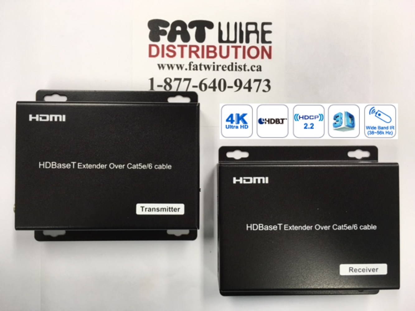 photo of HDMI Balun 4K HDBaseT Extender