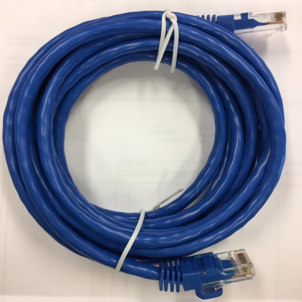 photo of Blue Cat5 Patch Cable 3ft
