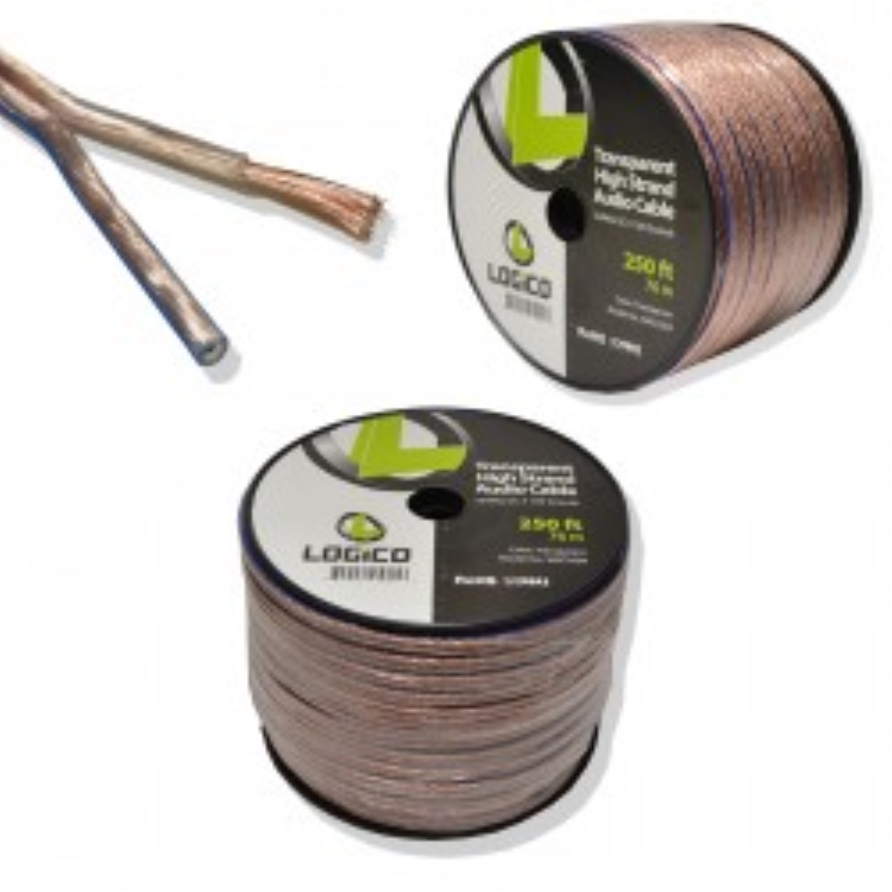 photo of Logico 10-2 Speaker Wire, Transparent jacket
