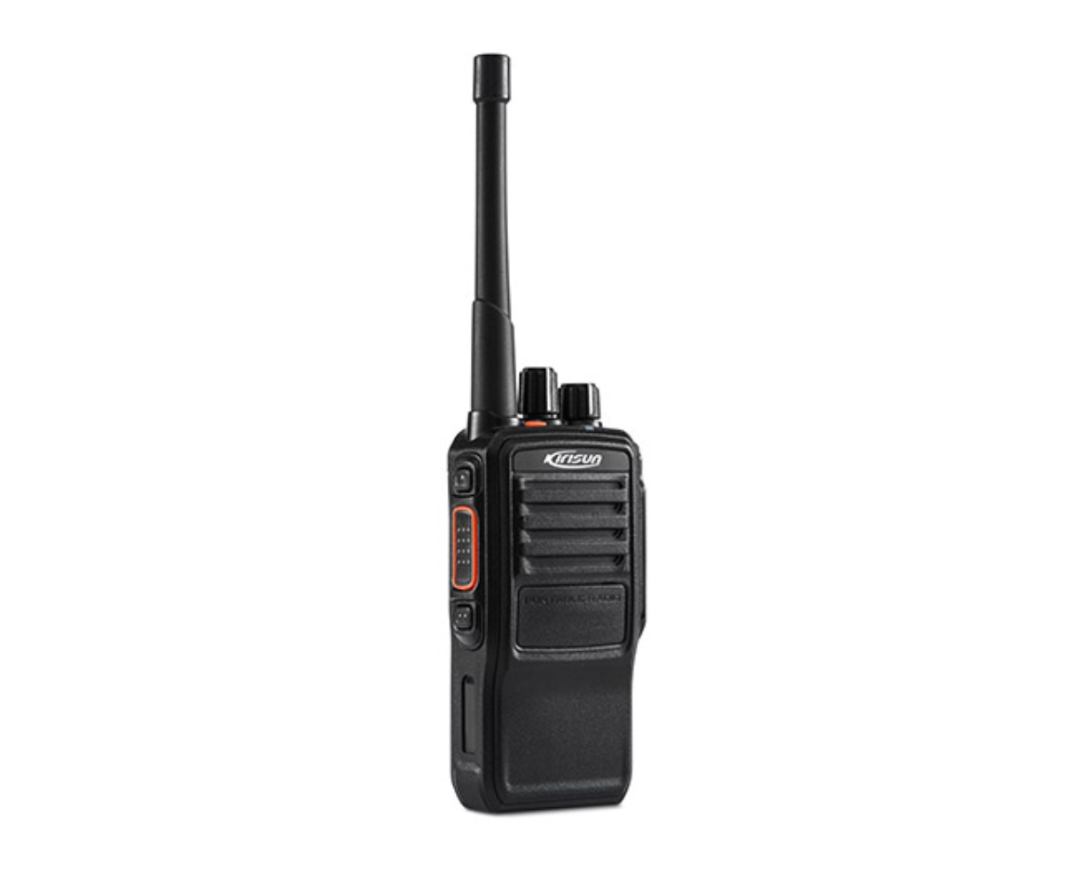 photo of Kirisun DP-585-GPS-MD-UHF-B - 256 Channel, UHF 4 Watt portable w/ GPS and Man Down