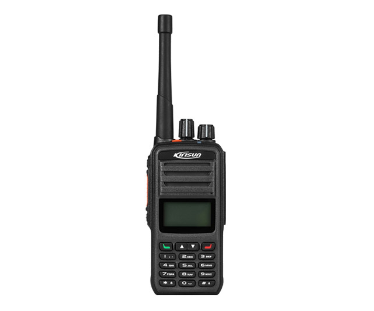 photo of Kirisun DP-580-GPS-MD-UHF - 256 Channel, UHF 4 Watt portable with LCD, GPS, Man Down and full keypad