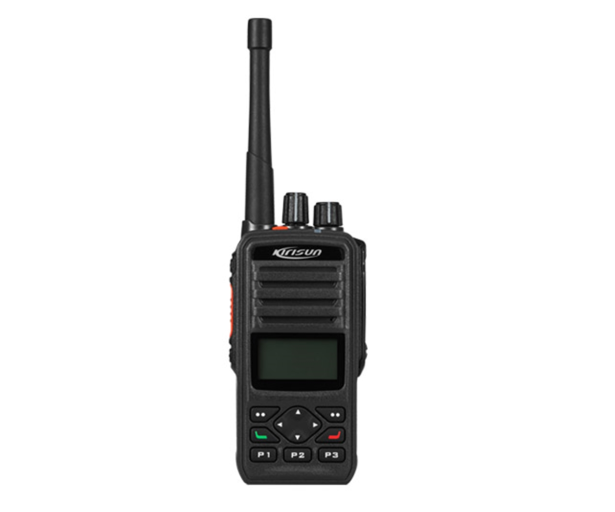 photo of Kirisun DP-586-GPS-MD-UHF 256 Channel, 4 Watt UHF Portable with GPS and Man Down
