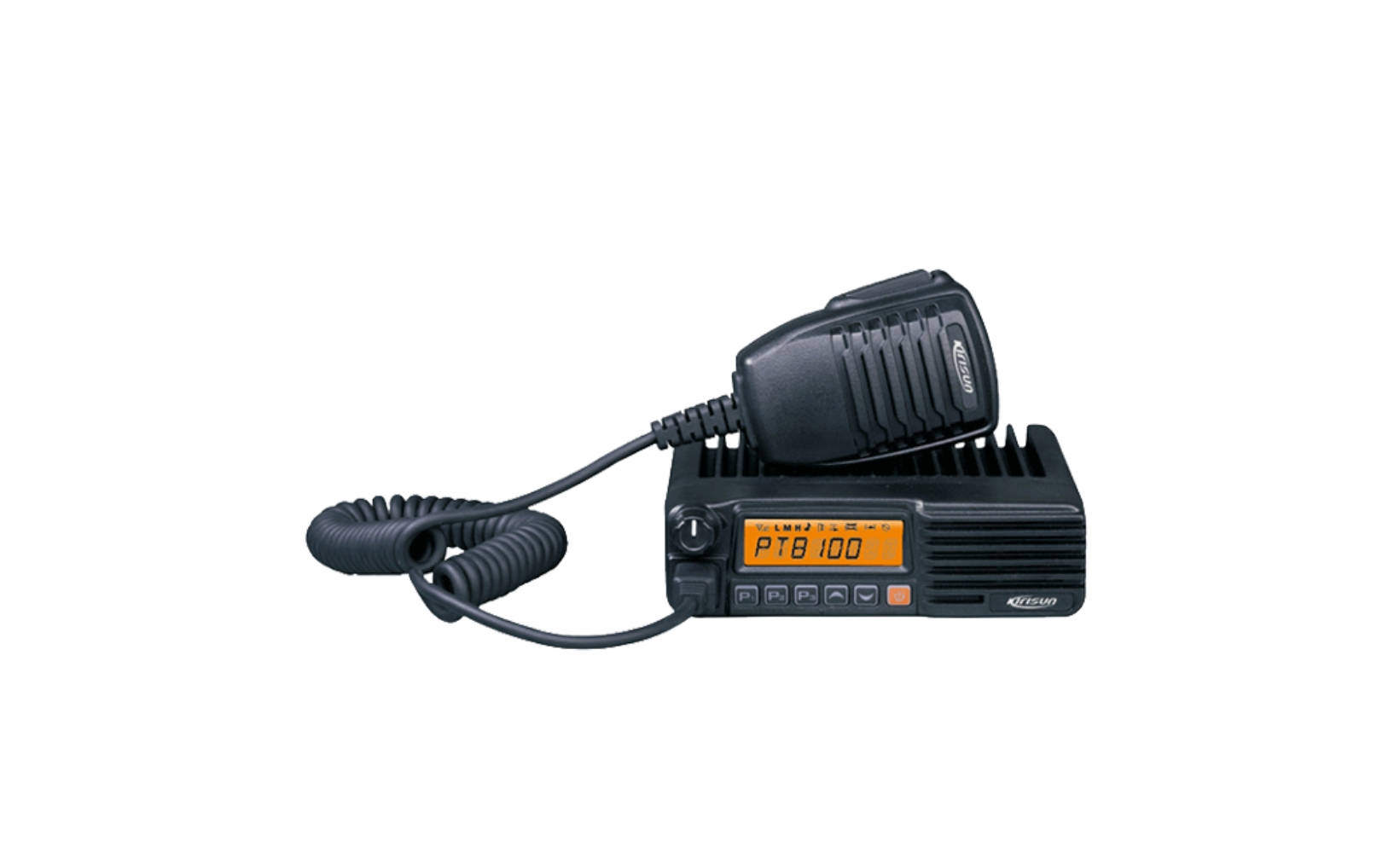 photo of Kirisun PT-8100-UHF-B - 256 Channel, 25 Watt, UHF Mobile