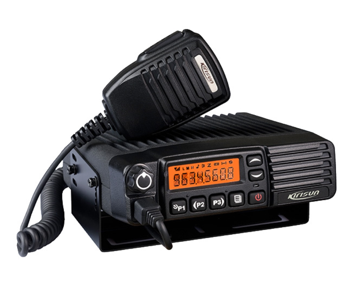 photo of Kirisun PT-8200-VHF - 512 Channel, 50 Watt, VHF Mobile Two Way Radio