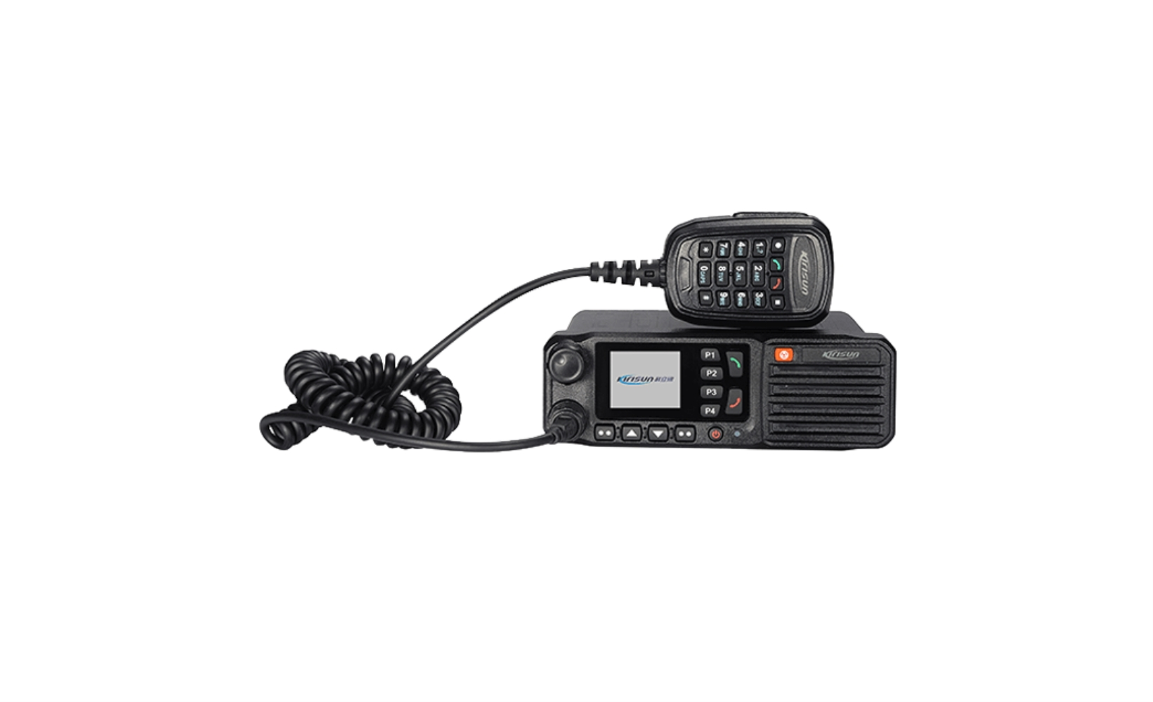photo of Kirisun TM-840-GPS-UHF-25 - 1024 Channel, 25 Watt, UHF Mobile Radio