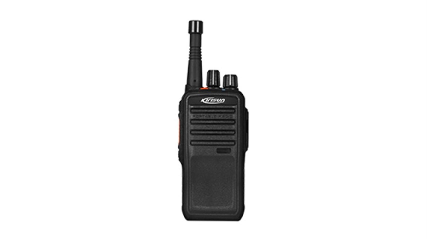 photo of Kirisun W65 Push to talk (ptt) over wi-fi / cellular, portable two way radio