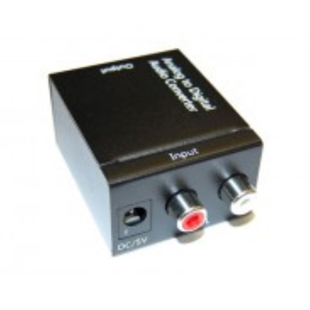 photo of AUDIO L/R TO DIGITAL COAX & TOSLINK CONVERTER RC-LRDT