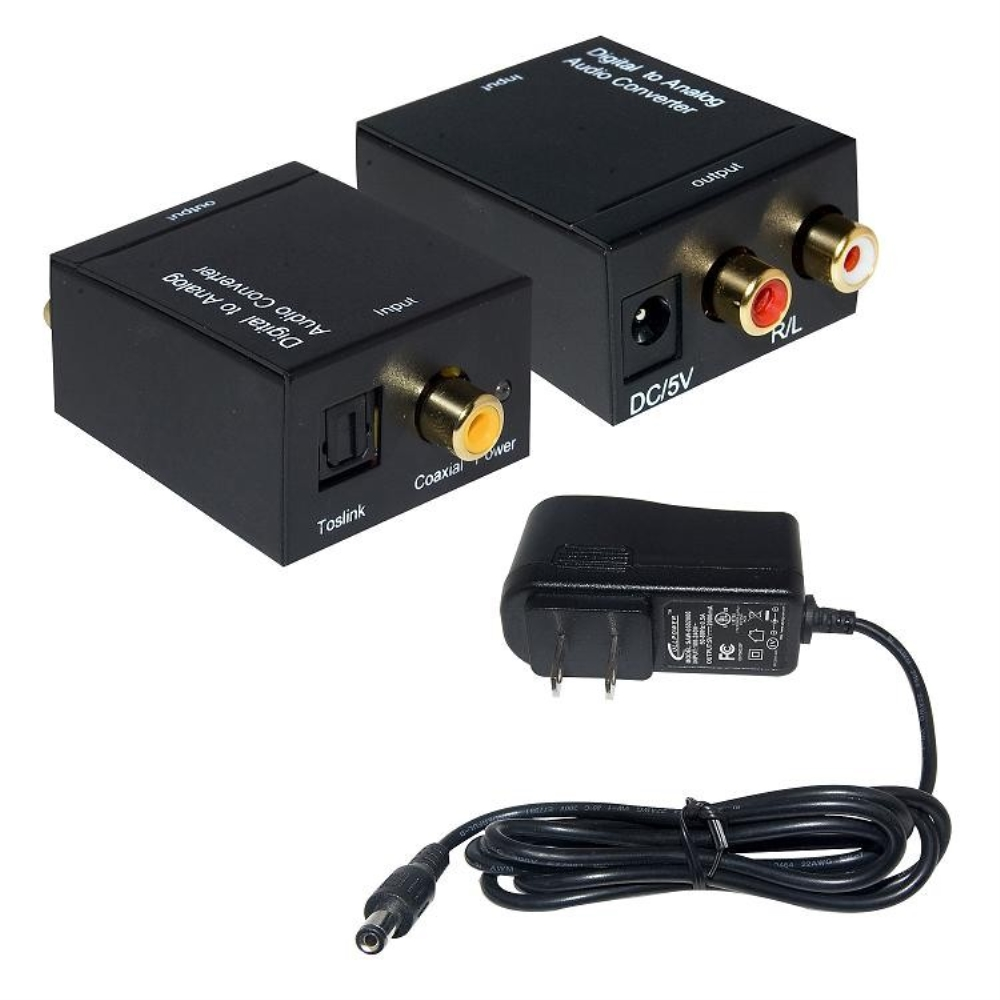 photo of DIGITAL TO ANALOG AUDIO CONVERTER, RC-DTLR