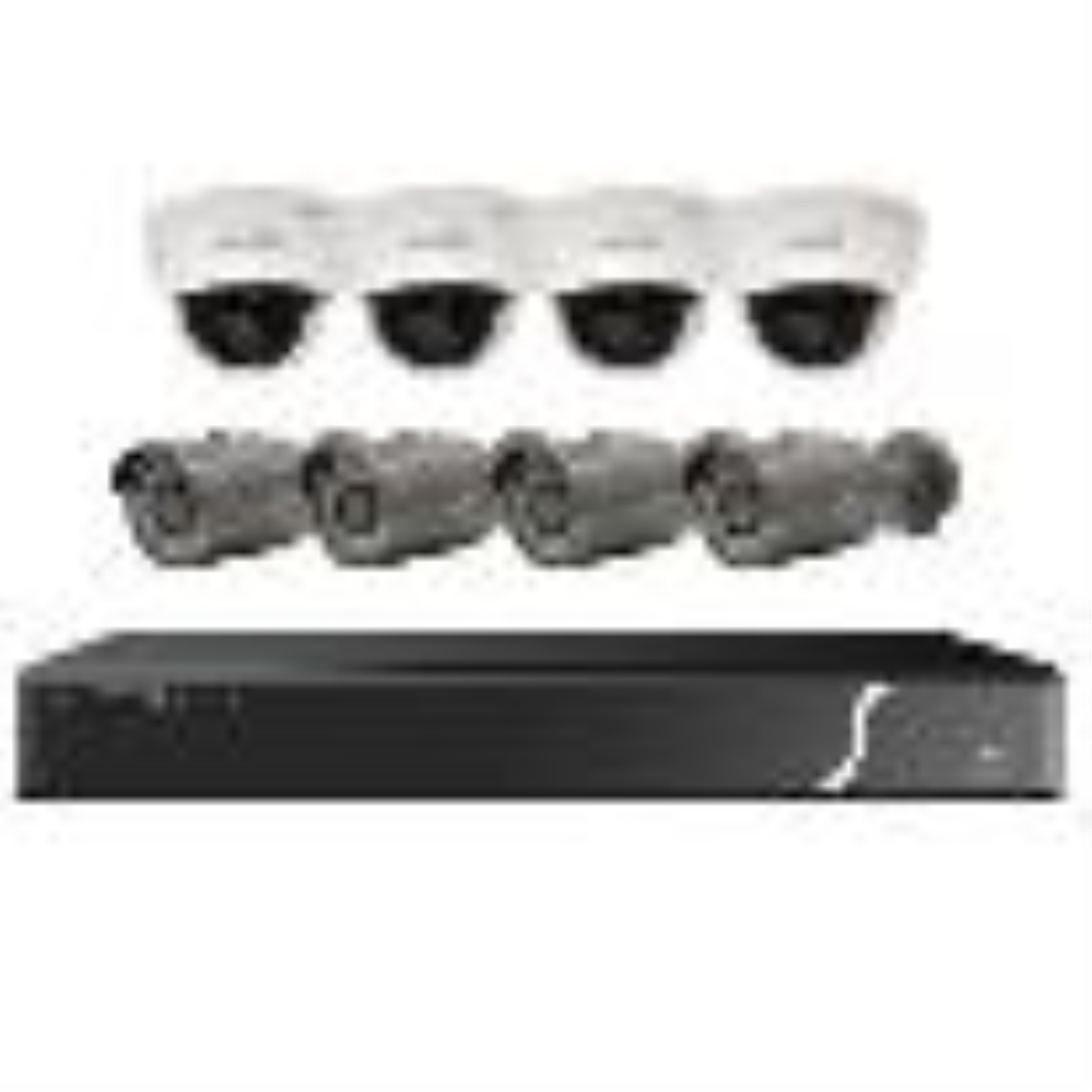 photo of SPECO NVR & CAMERA KIT, 4 DOMES/4 BULLETS ***SPECIAL PRICE $1586.35***