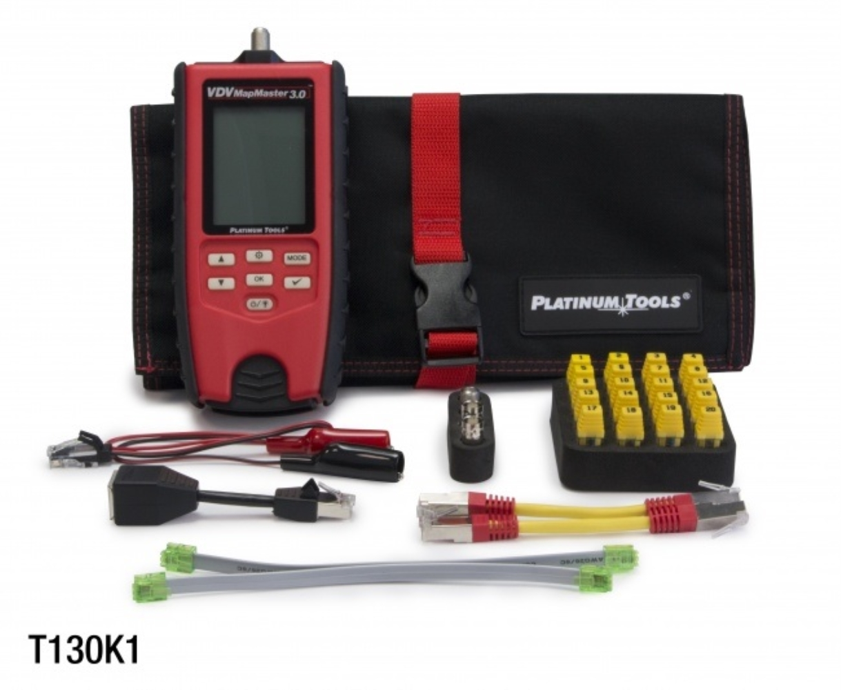 photo of PLATINUM TOOLS VDV MAPMASTER 3.0 KIT, T130K1