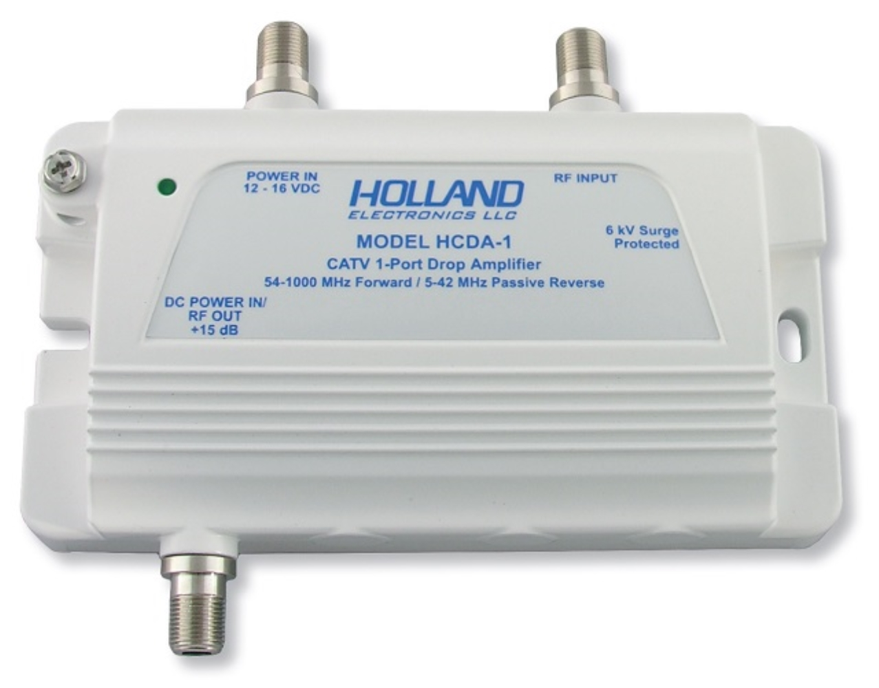 photo of CATV AMPLIFIER (REPLACES HDA 30) HOLLAND HCDA1