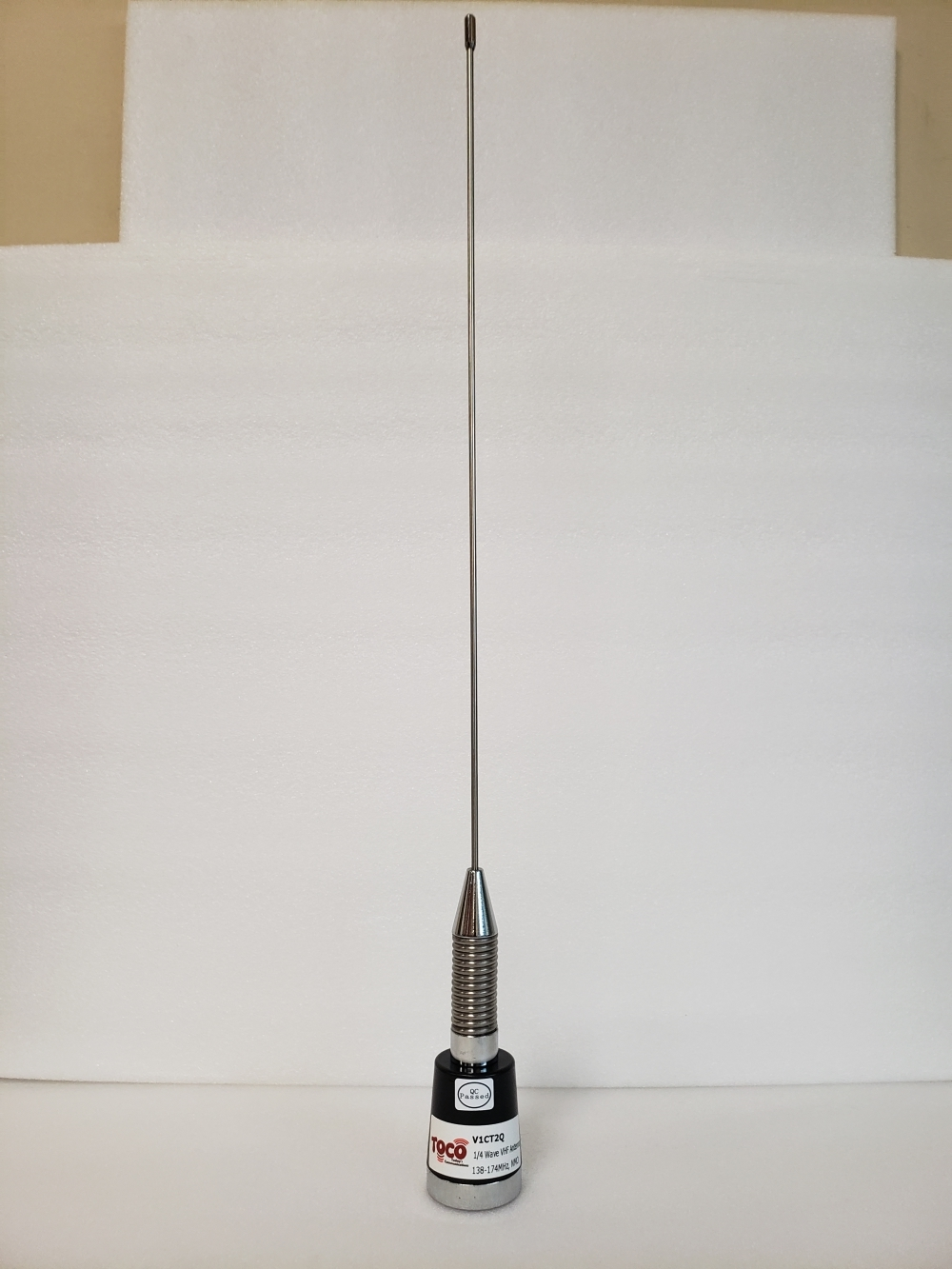 photo of 136-174 MHz 2dBi Quarter Wave Mobile Antenna
