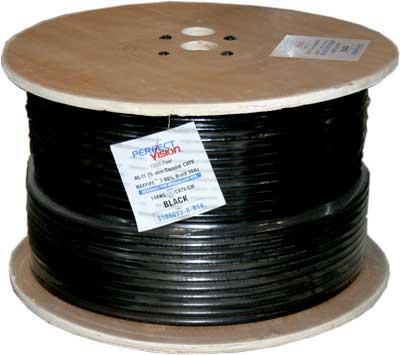 photo of RG11 Cable Black 1000ft