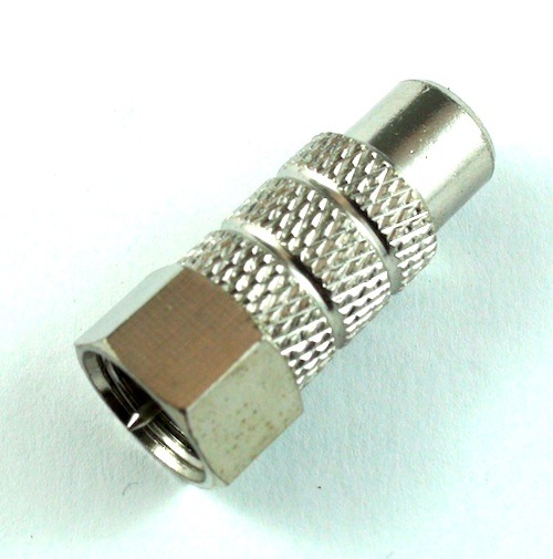 photo of RCA Female F Male Adapter