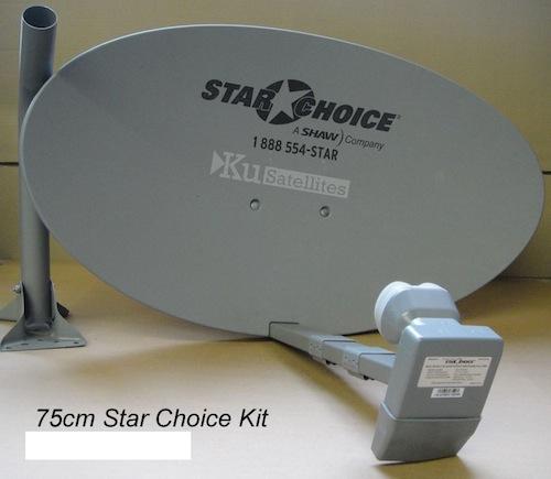 photo of 60cm Shaw Direct Dish Quad XKU LNB