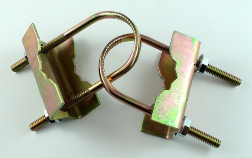 photo of U CLAMP PAIR (TO SECURE MASTS OR PIPES)