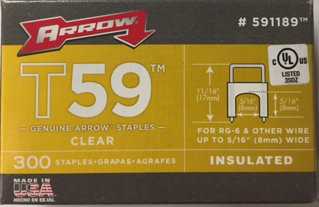 photo of STAPLE T59-INSULATED-CLEAR-PACK-300