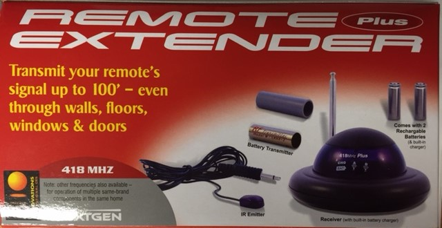 photo of NEXGEN-EXTENDER-KIT-418MHz-RED