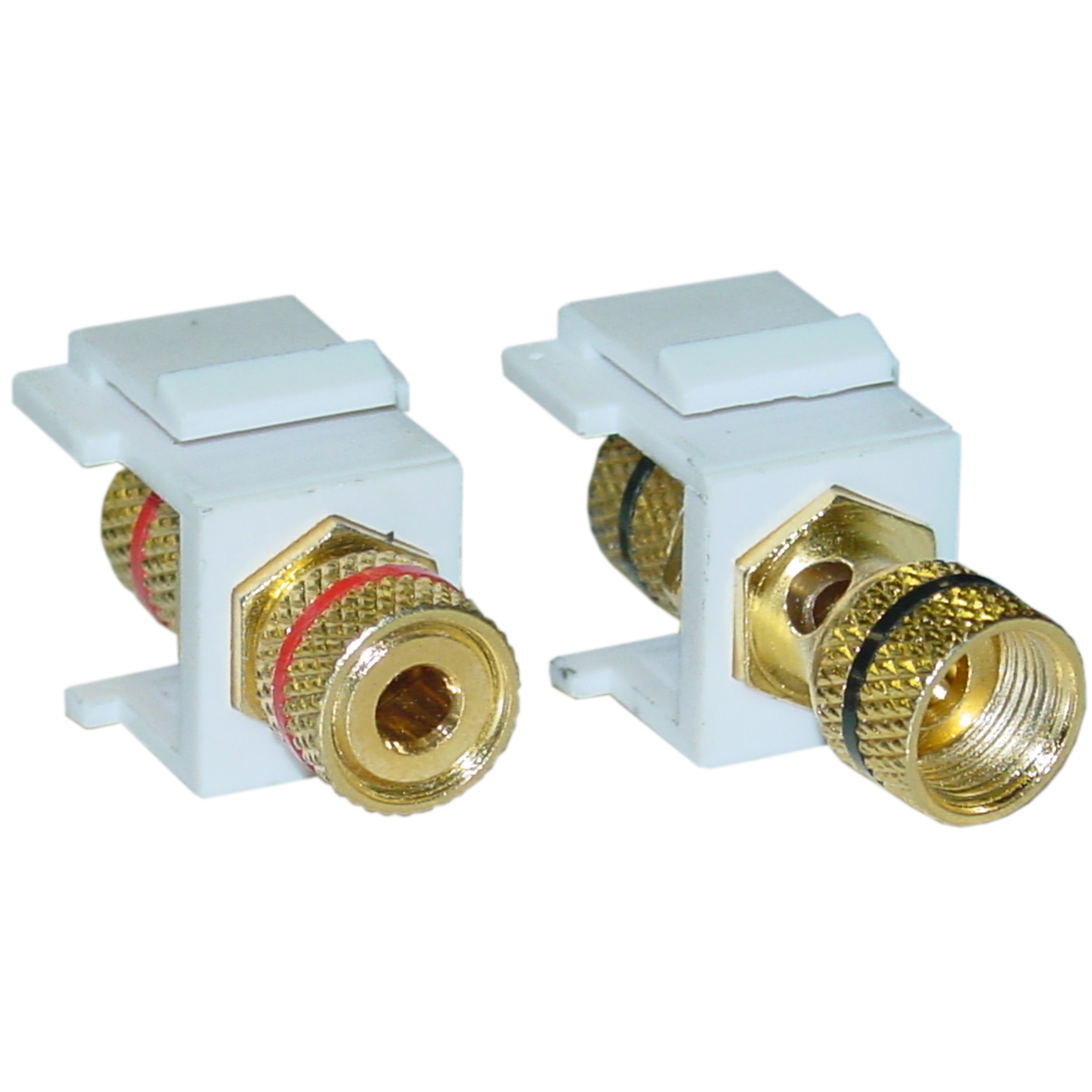 photo of SPEAKER BINDING POST (PAIR) KEYSTONE JACKS