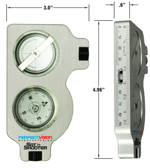 photo of Perfect Vision Sat Shooter, Combination Compass/Clinometer