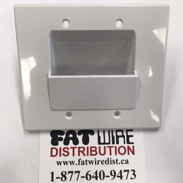 photo of Chute Dual Wall Plate WPCC2