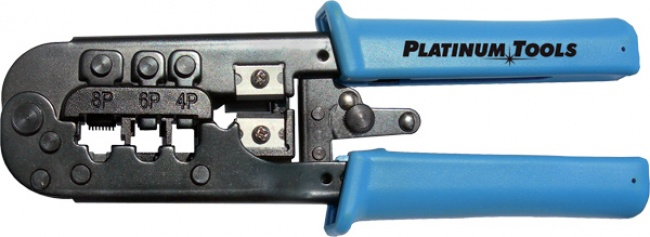 photo of PLATINUM TOOLS ALL IN ONE MODULAR CRIMP TOOL 12503C