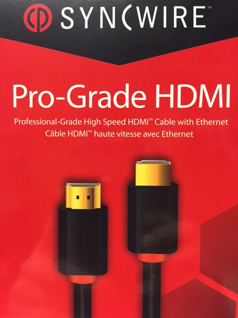 photo of HDMI Pro-Grade 4K Cable 1m