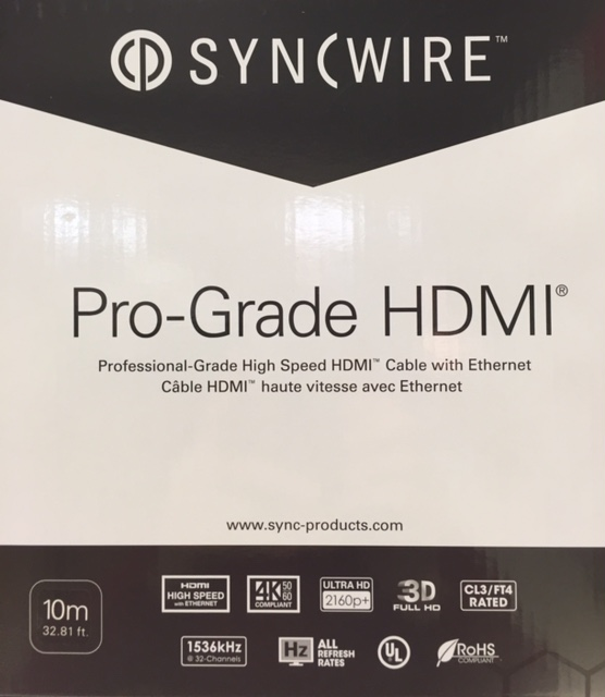 photo of HDMI Pro-Grade 4K Cable 10m (HD SW-HDMI-10M)