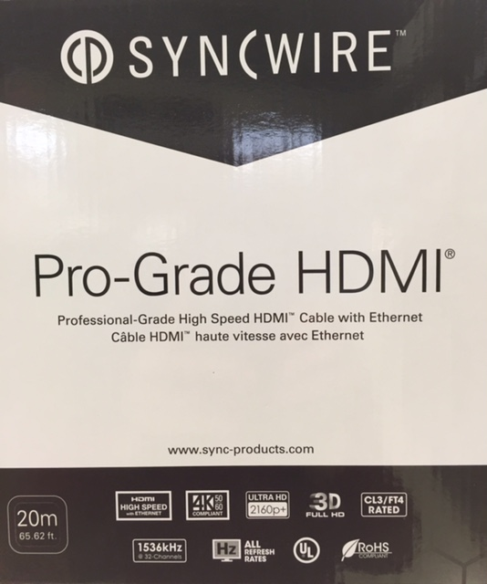 photo of HDMI Pro-Grade 4K Cable 20m