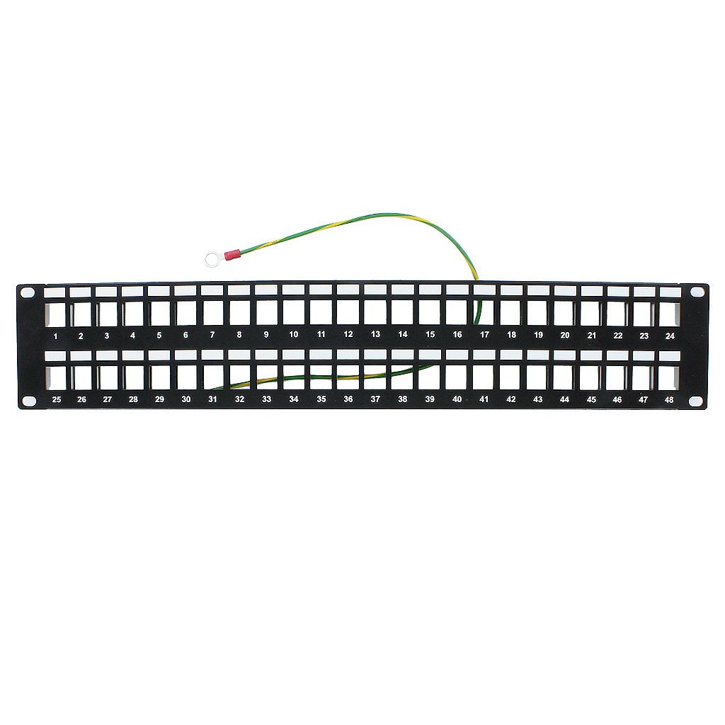 photo of Blank Patch Panel 48 Port