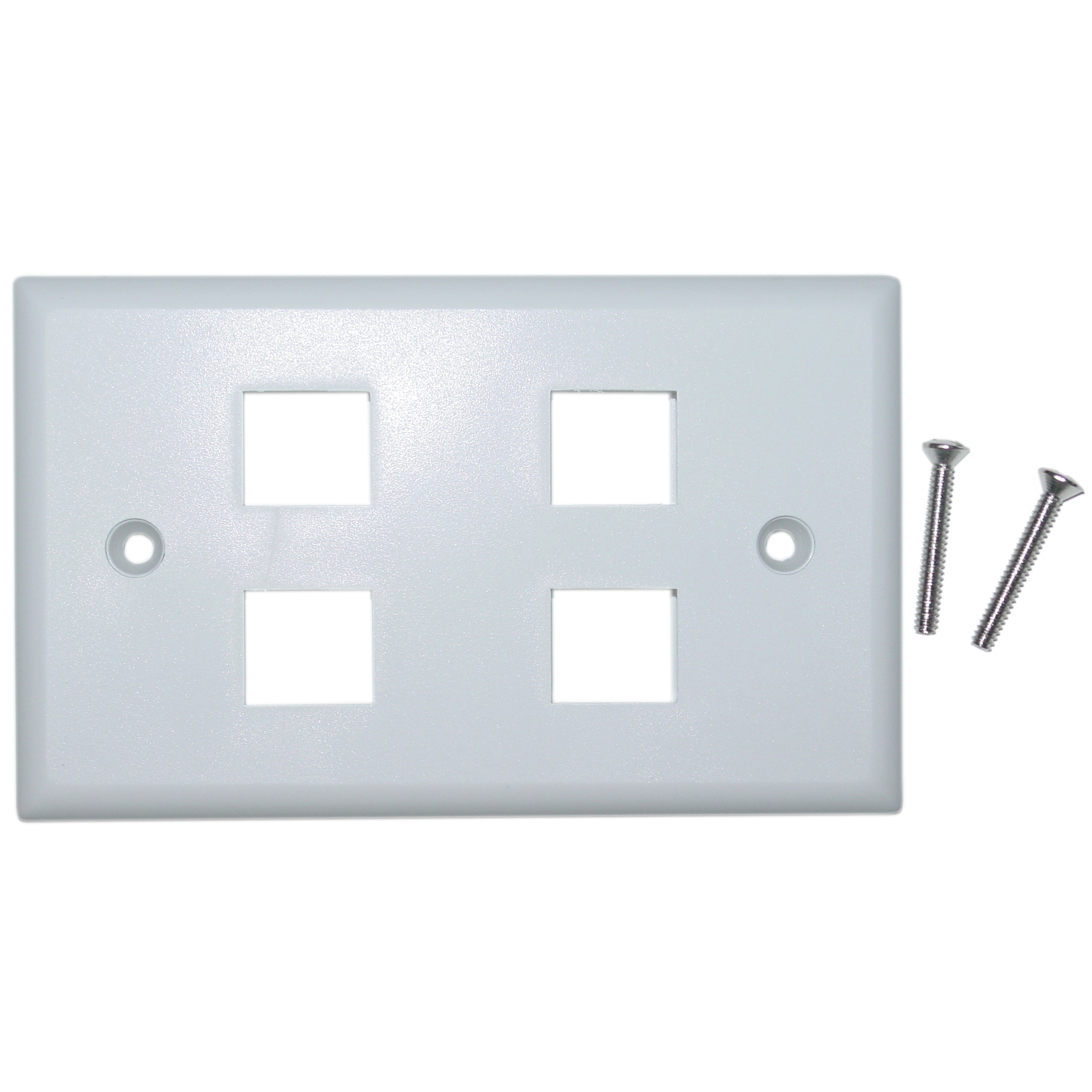 photo of Solid Wall Plate 4 Port