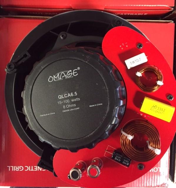 photo of Low Profile Ceiling Speaker Pair QLCA6.5