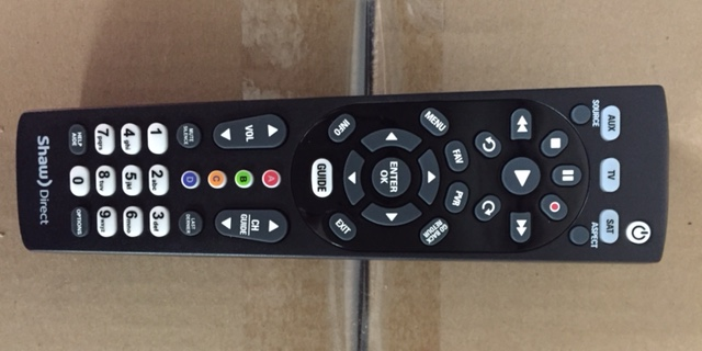 photo of Shaw Remote URC600