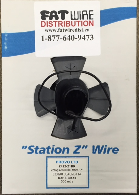 photo of Station Z Wire 1000ft Black